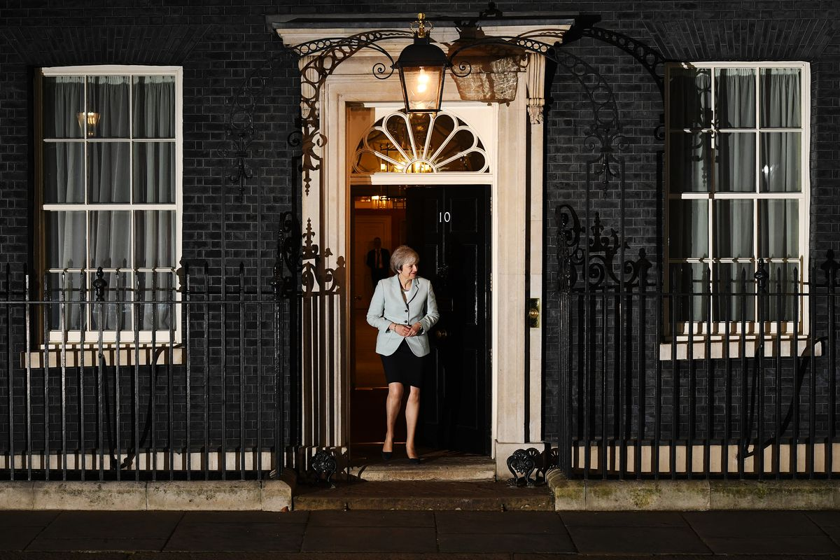 Theresa May Hosts The Prime Minister Of Malta