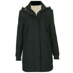 """<b>Topshop</b> Clean Duffle Coat in Dark Green, <a href=""""http://us.topshop.com/en/tsus/product/clothing-70483/coats-70994/clean-duffle-coat-2285600?bi=1&ps=200"""">$178</a>"""