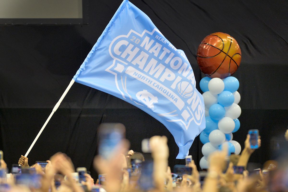 North Carolina Tar Heels Championship Welcome Rally