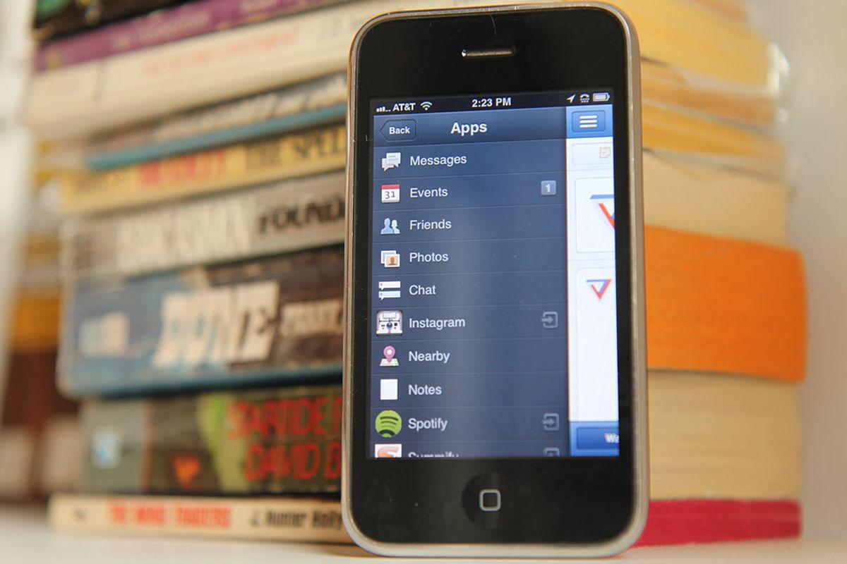 iphone facebook lead