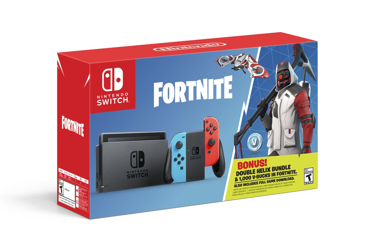 nintendo switch is getting a fortnite bundle with exclusive items