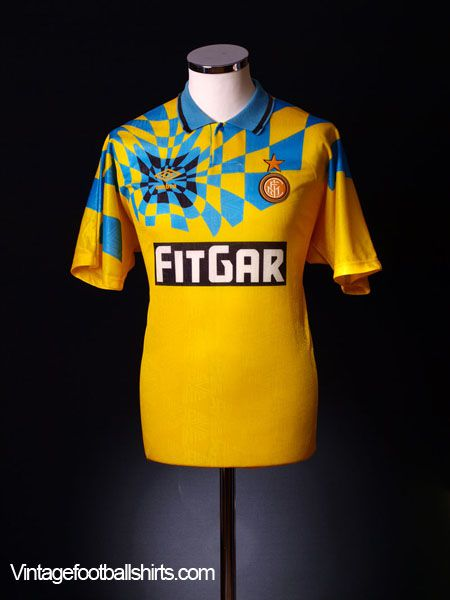 best loved 0b3a5 48fd1 Third time lucky: Inter's third kit mastery (and misery ...