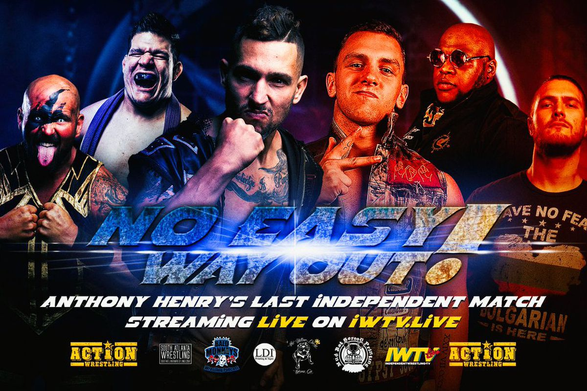 Poster for ACTION Wrestling No Easy Way Out