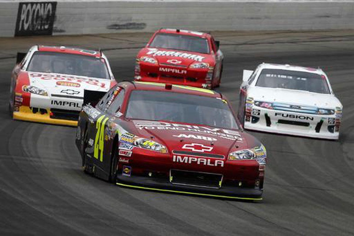 NASCAR's Jeff Gordon