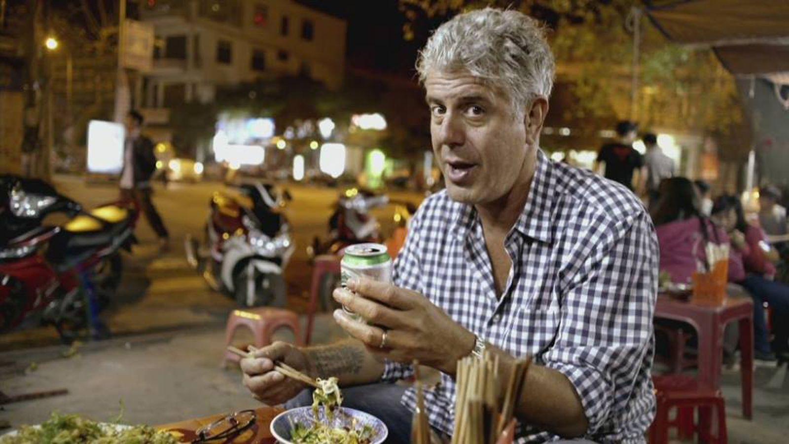 Anthony Bourdain Food Cities