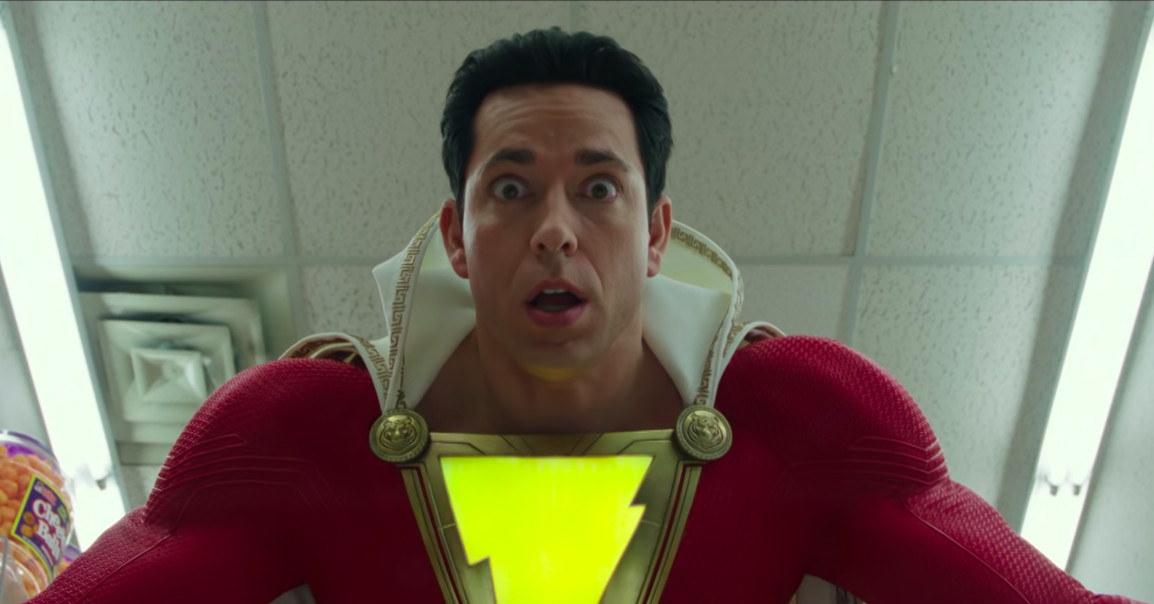 Watch the first zany trailer for DC's Shazam