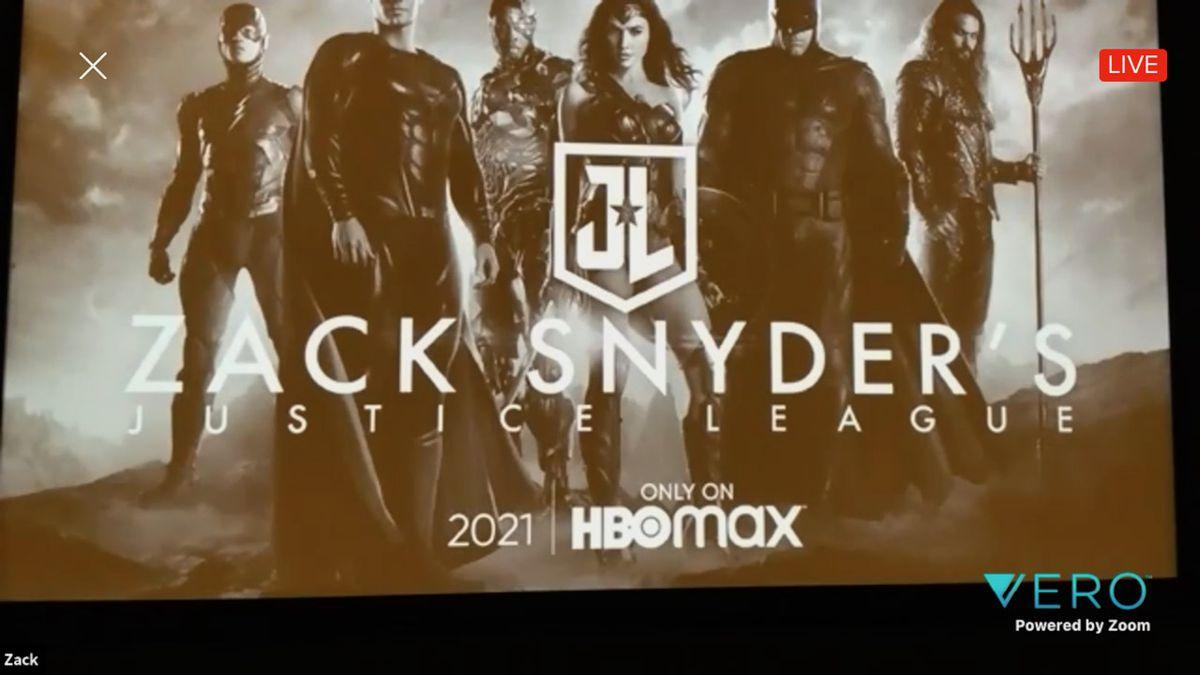snyder cut of justice laegue hbo max 2021 logo