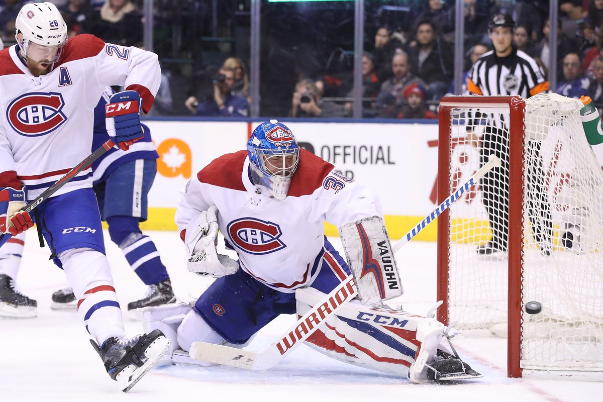 Canadiens Vs Leafs Top Six Minutes Goalies Can T Score Goals Too Eyes On The Prize
