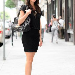 """<a href=""""http://la.racked.com/archives/2011/09/01/anne_marie_at_9th_and_los_angeles.php"""" rel=""""nofollow"""">Anne Marie</a>'s top is from William Rast, the skirt is BCBG, and her shoes and bag are Vince Camuto."""