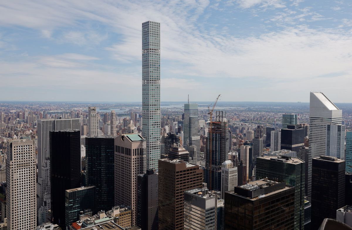 Views from Top of the Rock in Rockefeller Center in New York City