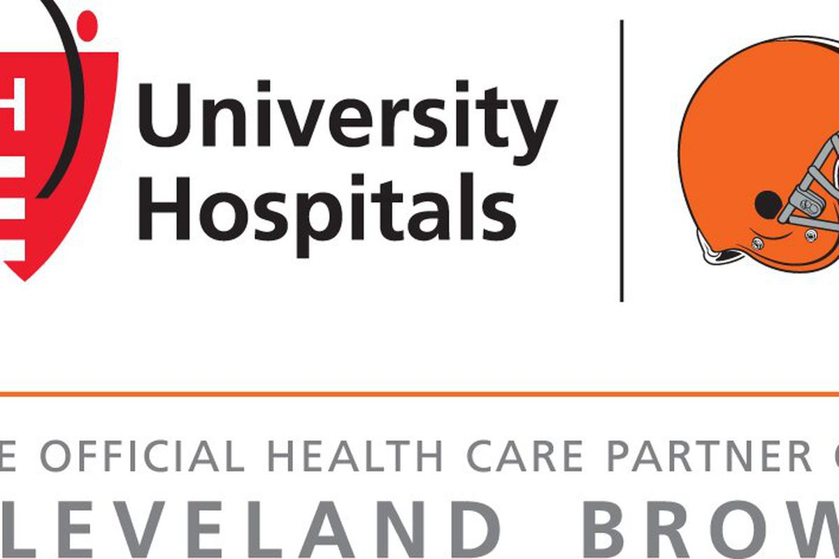 Browns Name University Hospitals as Official Health Care