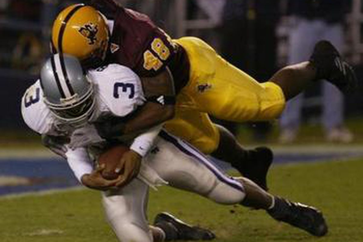 ASU Football Summer of Legends No 48 Terrell Suggs House of