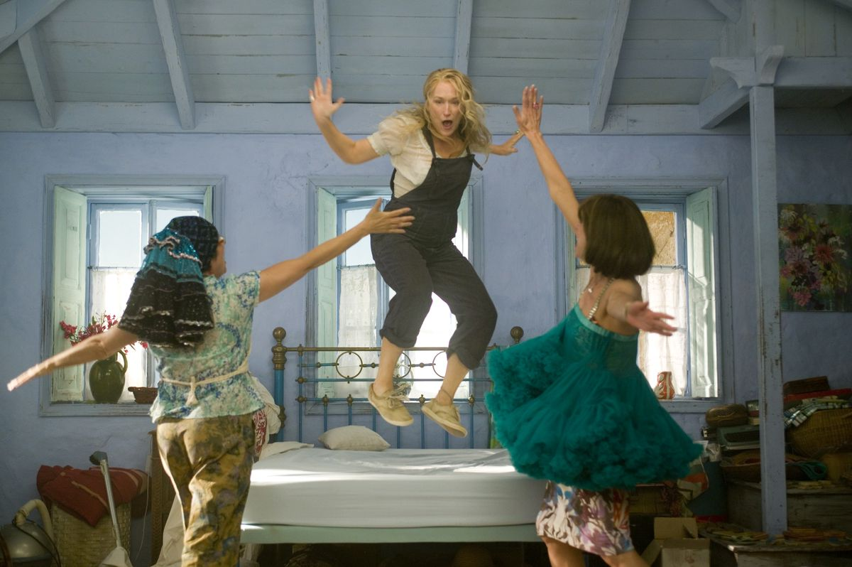 "Julie Walters (from left), Meryl Streep and Christine Baranski in ""Mamma Mia!"" | Universal"