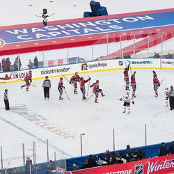 Washington Capitals Win the Winter Classic