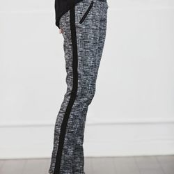Vanessa Bruno tweed stretch pants, $450