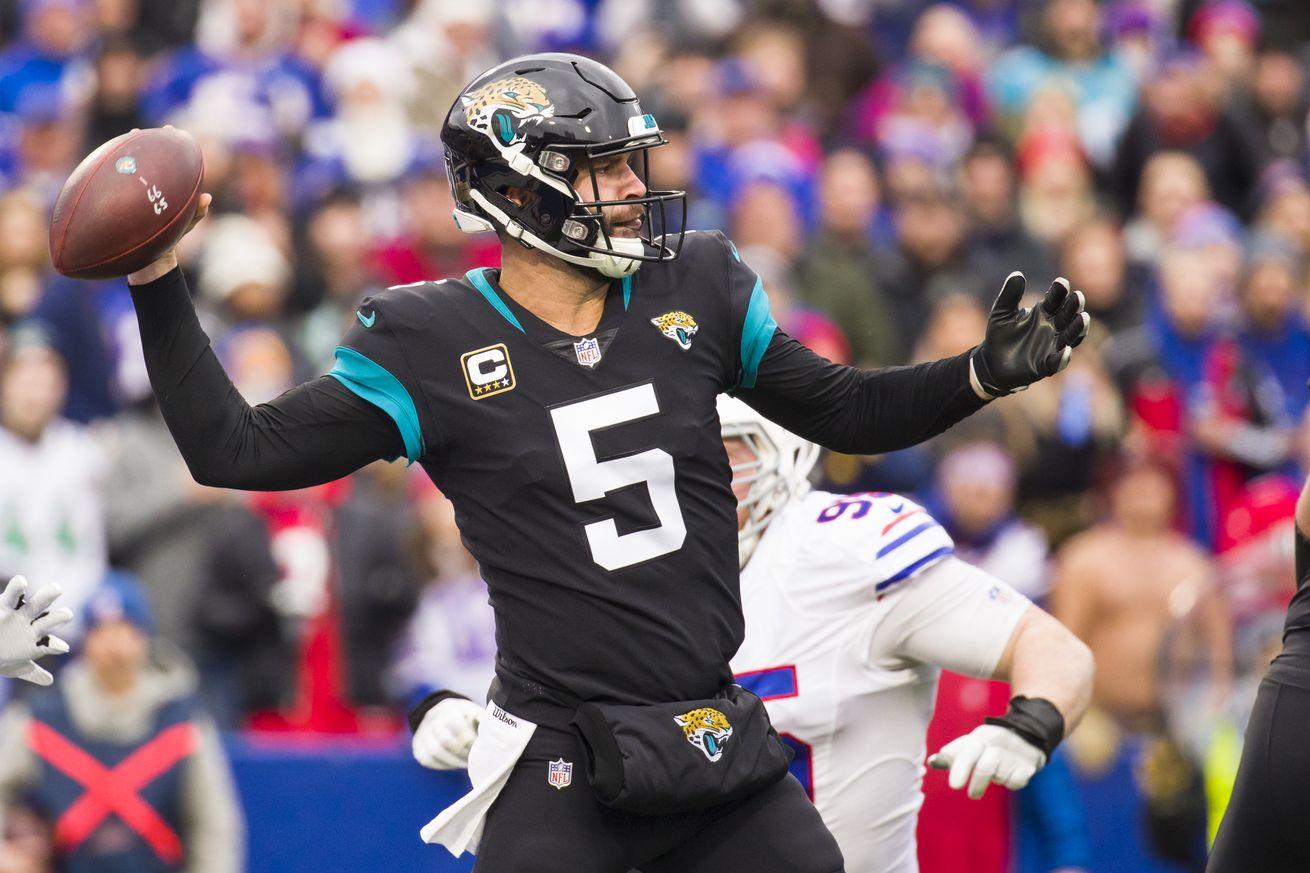 Report: Broncos showed preliminary interest in quarterback, Blake Bortles