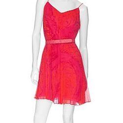 "<a href=""http://www.intermixonline.com/product/dresses/all+dresses/halston+heritage+pleated+overlayer+panel+dress.do?sortby=ourPicks&page=2""> Halston Heritage pleated overlayer dress</a>, $395 intermixonline.com"