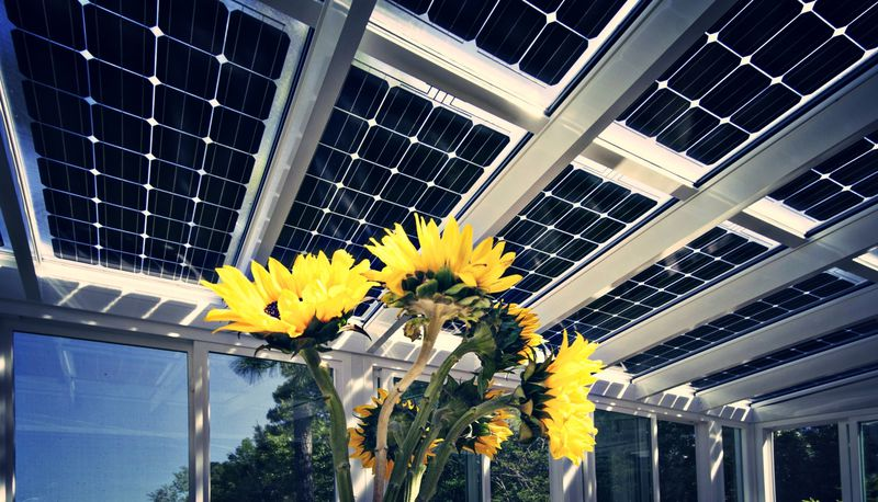 Prism Solar's bifacial solar PV.
