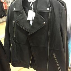 Black jacket, $150 (was $365)