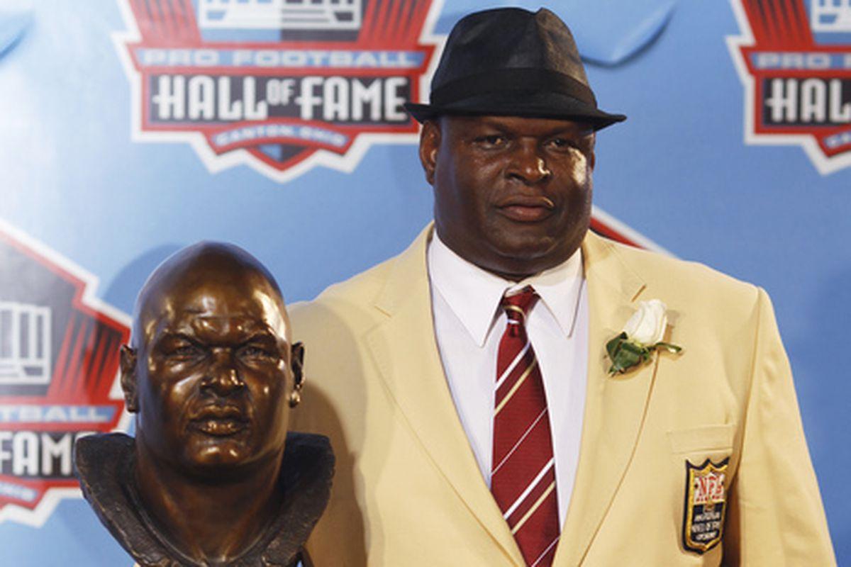 Pro Football HOFer Rickey Jackson signed my Dad's Saints cap!