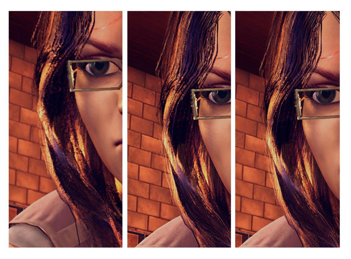 Xbox Scorpio - scientist close-up comparison