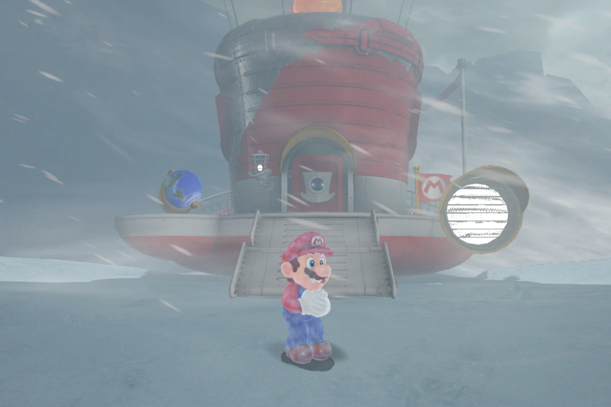 Super Mario Odyssey Guide Snow Kingdom All Power Moon