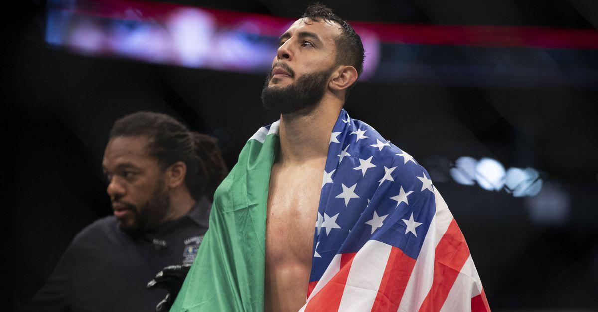 UFC Vegas 25 poster released, featuring Dominick Reyes and Jiri Prochazka