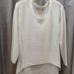 Sweater by RD International was $80 now $25
