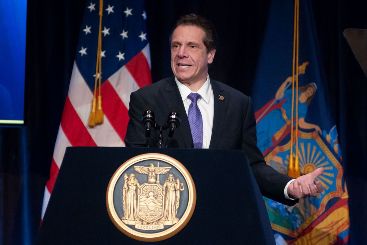 Andrew Cuomo speaks at Association for Better New York lunch.