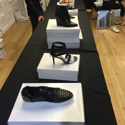 Women's shoes, all $125