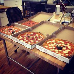 Luzzo's pizza party