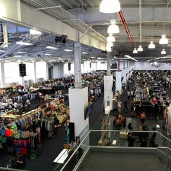 <strong>5:15pm</strong> An overhead shot of the first day at Capsule.