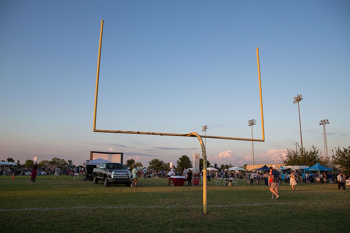 AUSTIN, TX - JUNE 10: A general view of atmosphere during the Friday Night Lights Tailgate and Pep Rally Reunion at the ATX Television Festival in Austin, TX on Friday, June 10, 2016.
