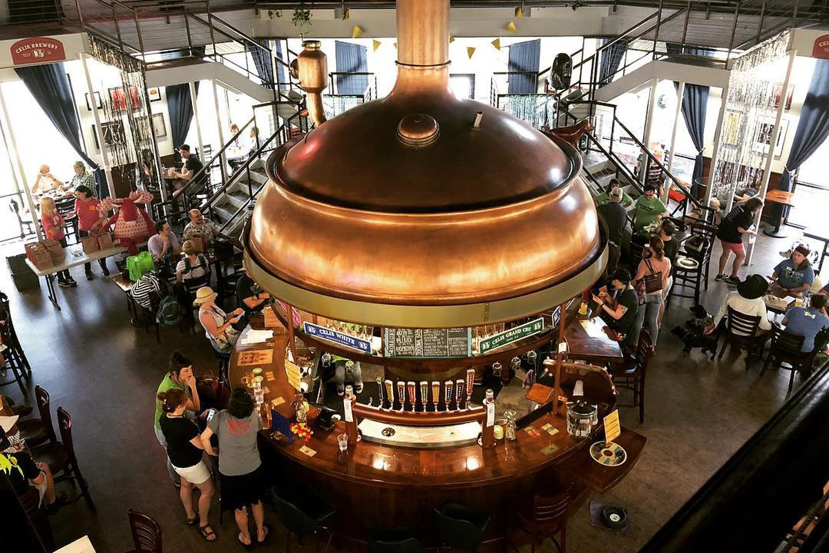 Celis Brewery's taproom