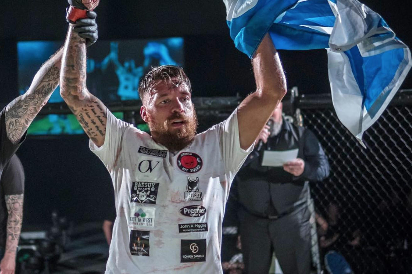 Chris Bungard is eyeing a bout against fellow  Bellator Newcastle fighter Aaron Chalmers.