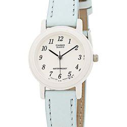 "Casio ladies wristwatch, $72 at <a href=""http://store.americanapparel.ca/casio-ladies-wristwatch-lq-139l-2b_lq139l2b"">American Apparel</a>."