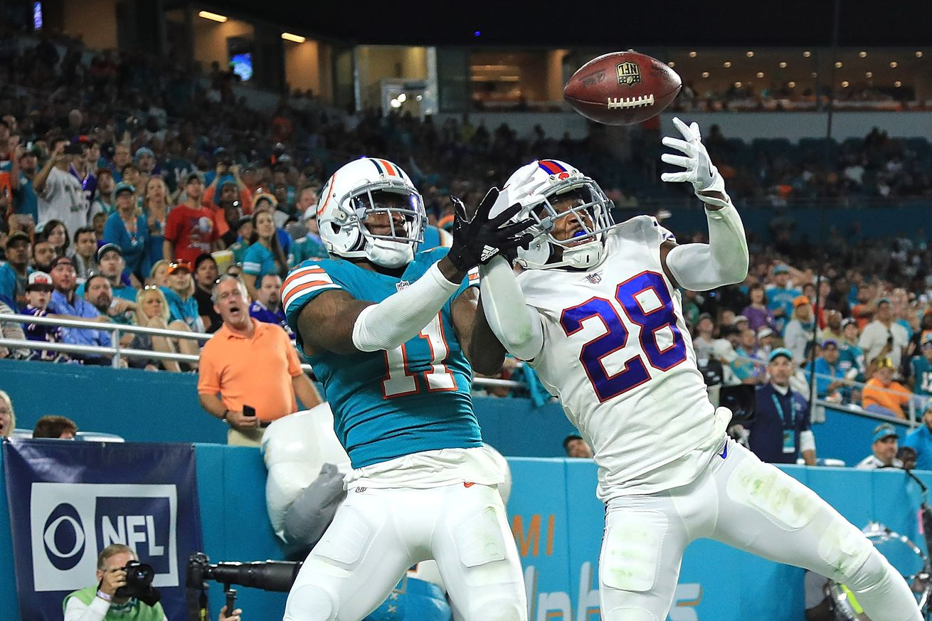 Plays that defined 2017: Bills at Miami Dolphins