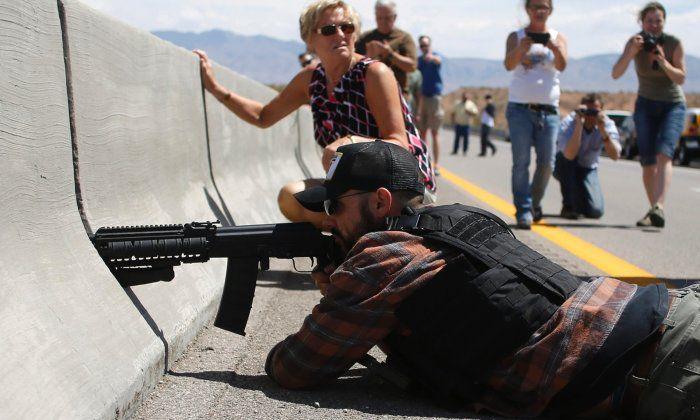 A Cliven Bundy supporter and militia member