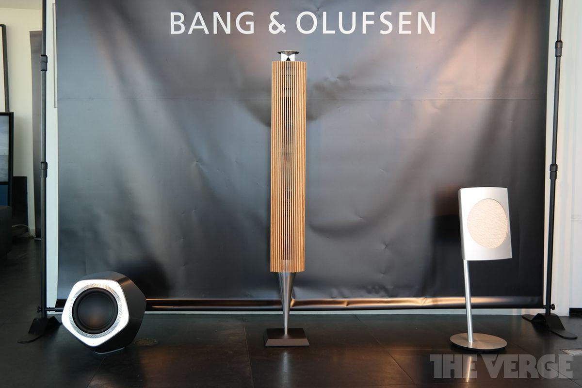 Bang & Olufsen BeoLab speakers