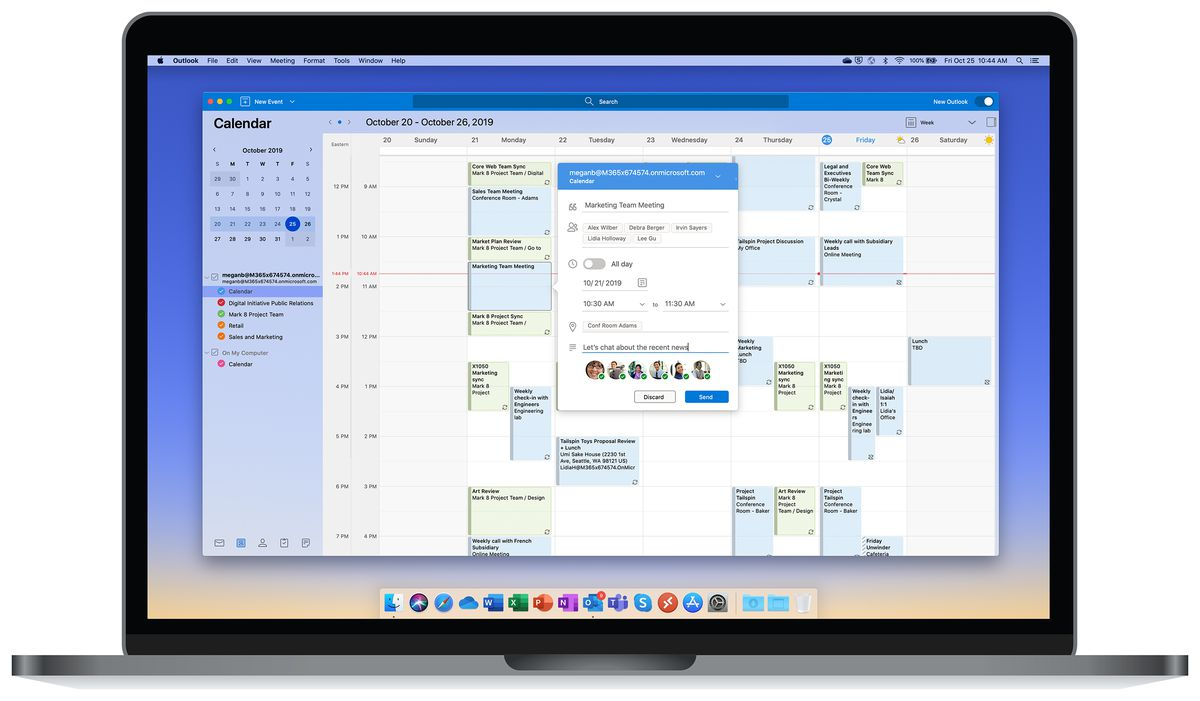 Outlook For Mac Gets A New Design And Big Performance Improvements The Verge