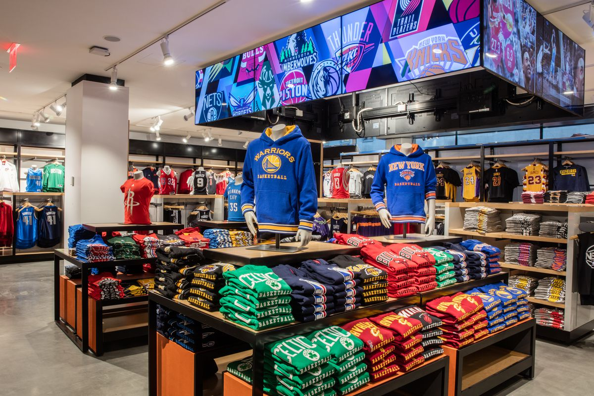 The New Nba Store Is A Basketball Fan S Holy Grail Racked Ny