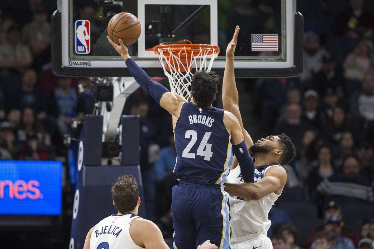 NBA: Memphis Grizzlies at Minnesota Timberwolves