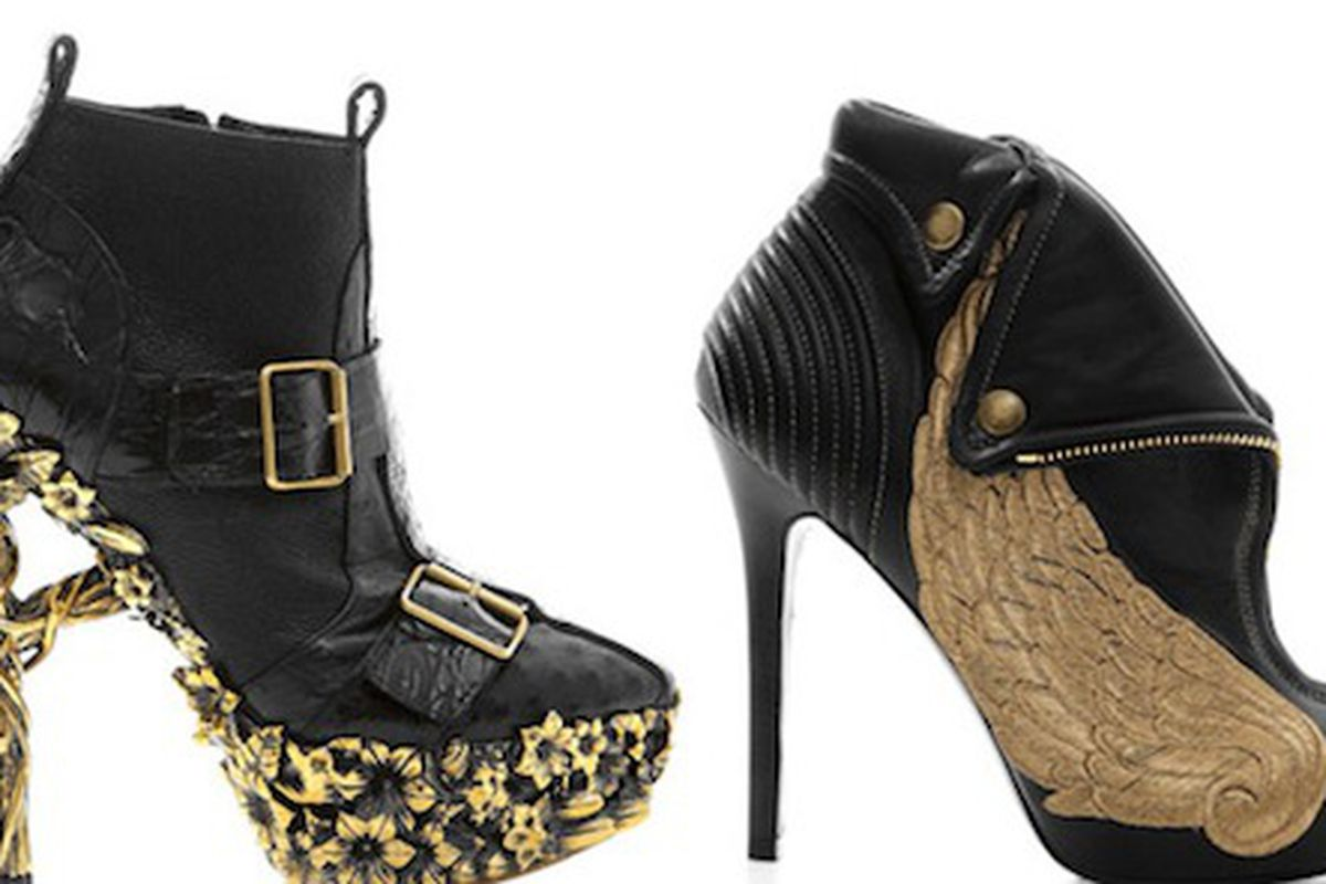"There are no words. Image via <a href=""http://www.nitrolicious.com/blog/2010/04/14/alexander-mcqueen-fall-2010-shoes-bags/"">Nitrolicious</a>."