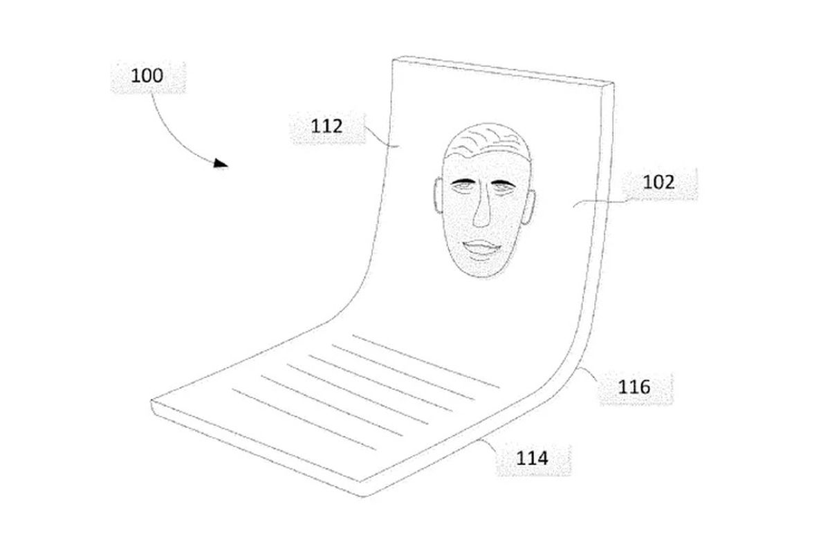 Looks like Google's thinking about a folding screen of its