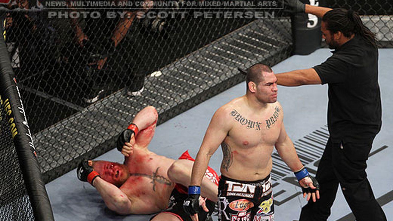 UFC 121 Post-Fight:媒体对Cain Velasquez对Brock Lesnar的胜利作出反应