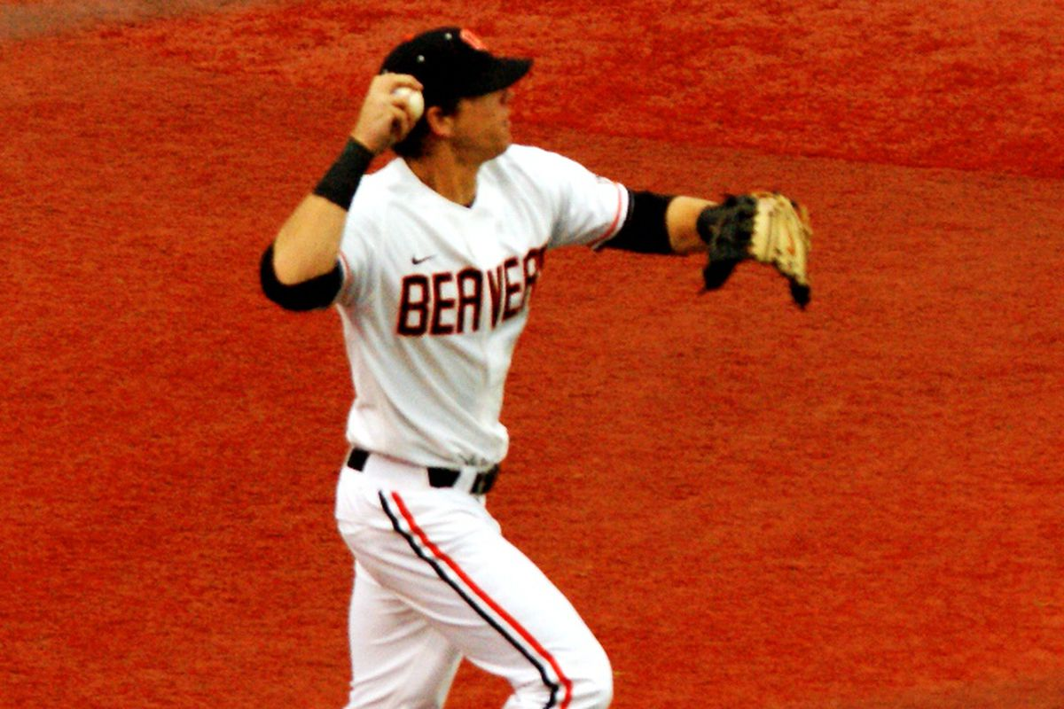 Oregon St. is after their 5th consecutive series win at Stanford today.