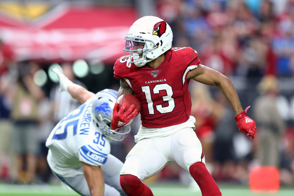 Arizona Cardinals wide receiver Christian Kirk against the Detroit Lions at State Farm Stadium.
