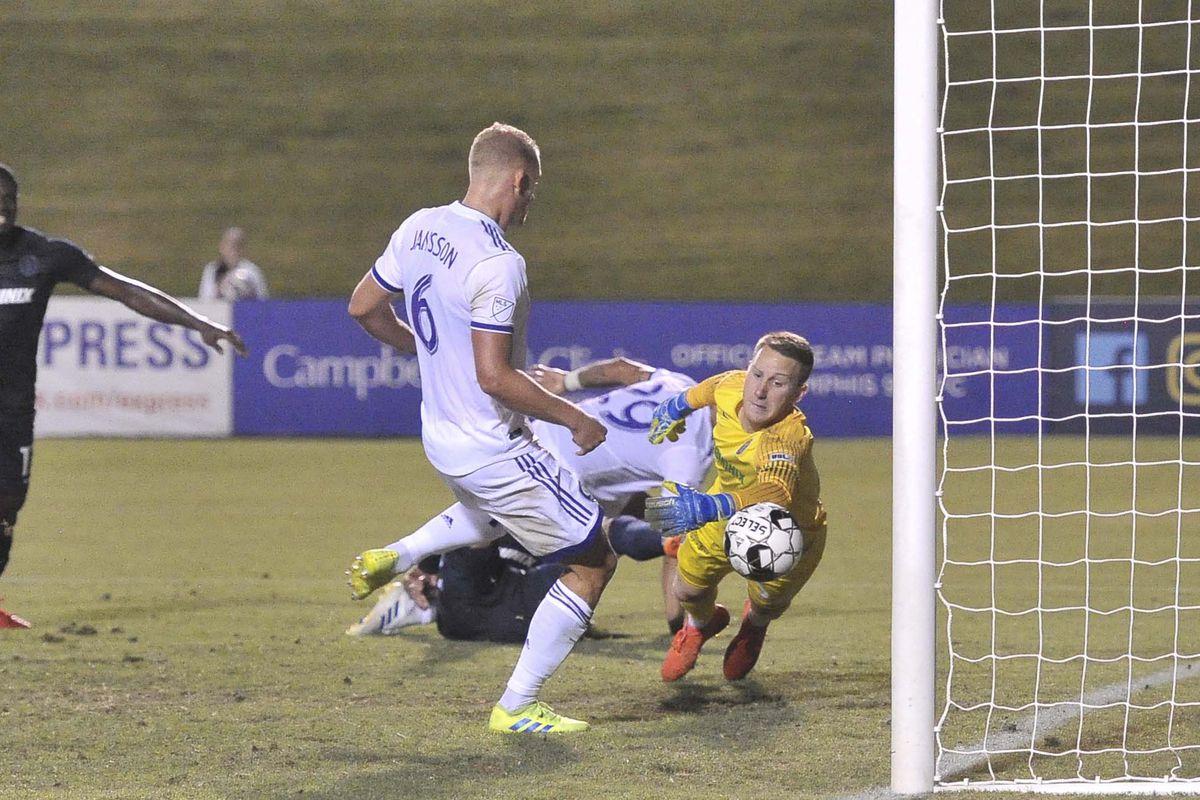 MLS: U.S. Open-Orlando City at Memphis 901