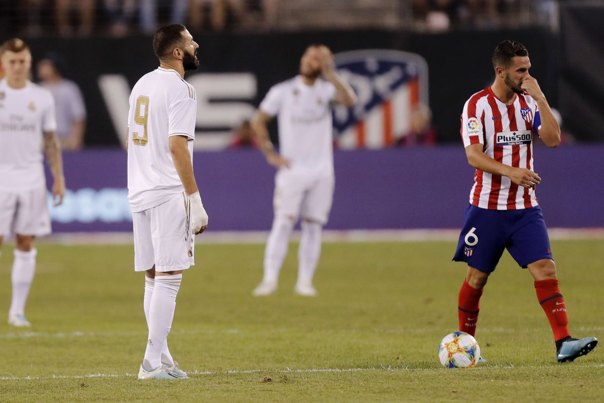Tactical Review Real Madrid 3 7 Atletico Madrid 2019 International Champions Cup Managing Madrid