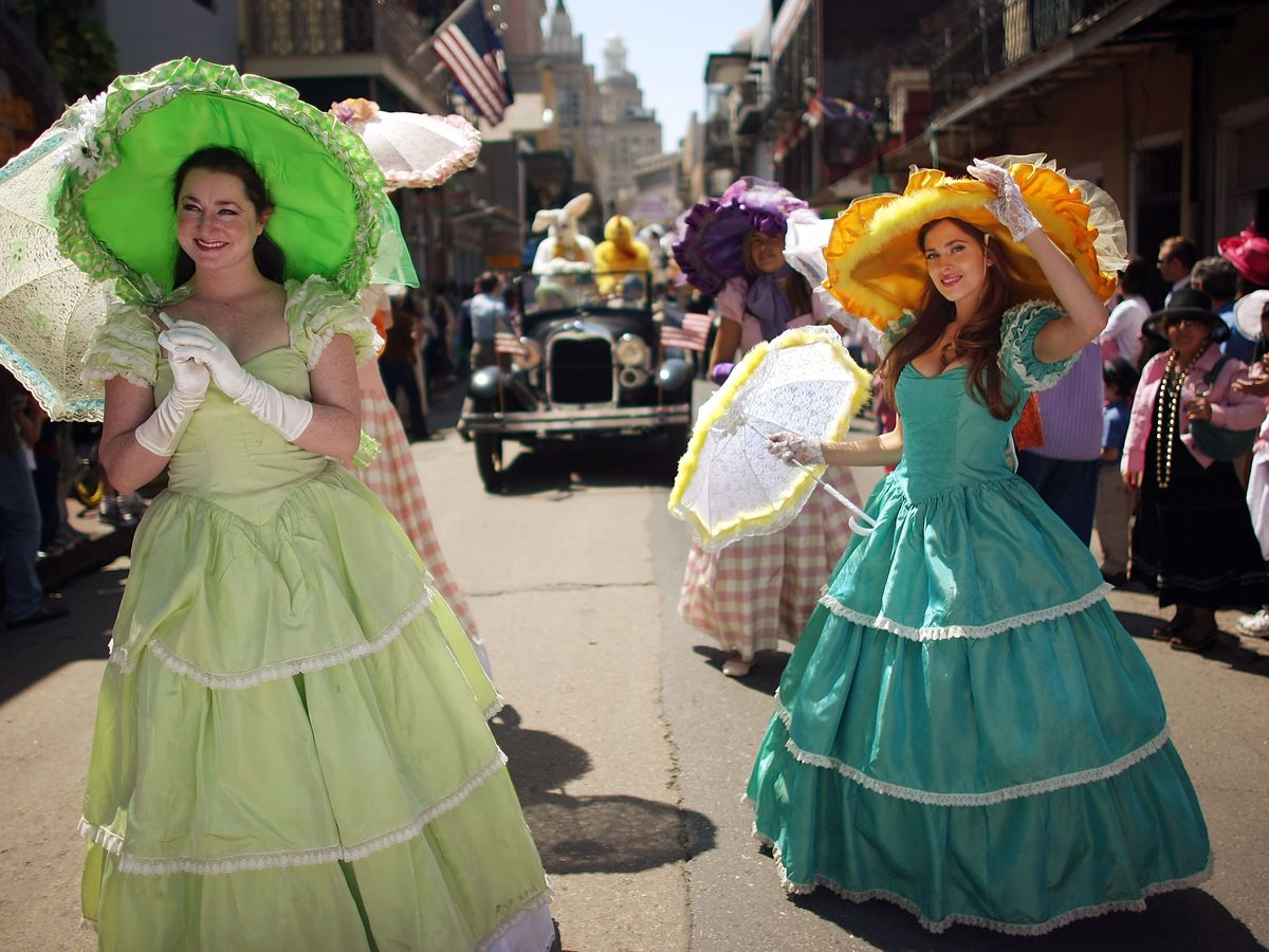 Starting Saturday, there are several opportunities to celebrate Easter throughout the city.